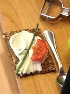 Vegan Cheese and Cracker